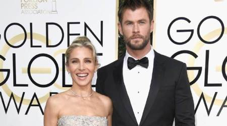 Thor actor Chris Hemsworth and wife Elsa Pataky have a pet snake