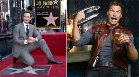 Guardians of The Galaxy actor Chris Pratt gets a star on Hollywood Walk of Fame