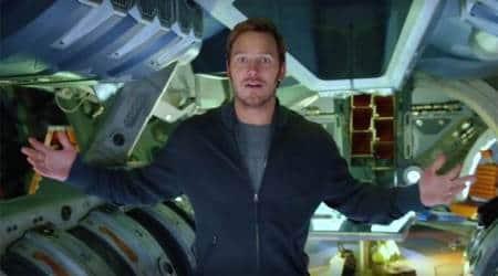 Chris Pratt amazed by Jhoom Jhoom Jhoom Baba version in Guardians of the Galaxy Vol 2trailer