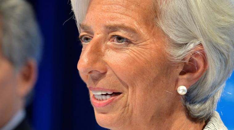 Christine Lagarde, IMF, Christine Lagarde economic growth, Christine Lagarde global growth, Christine Lagarde IMF, IMF World Bank Spring Meet, World Economic Report, Business news, Indian Express