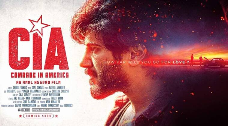 Comrade In America Poster Dulquer Salmaan Starrer Is All