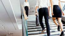 Opt for stairs, not soda, to feel more energised at work
