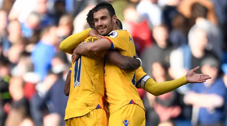 Crystal Palace vs Chelsea, Chelsea, Crystal Palace, Wilfried Zaha, Cesc Fabregas, sports new,s sports, football news, Football, Indian Express