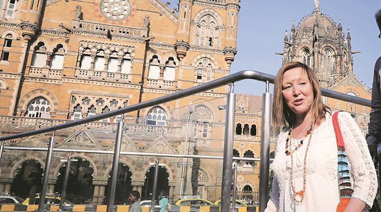 Chhatrapati Shivaji Terminus, Chhatrapati Shivaji Terminus architect, Diana Robertson, Kevin Robertson, India news, National news, Latest news, India news, National news