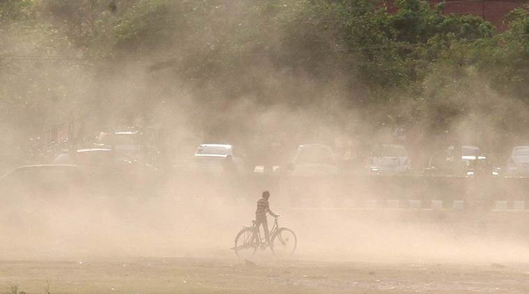 Dust storm woes: Expect 'severe' air quality to continue