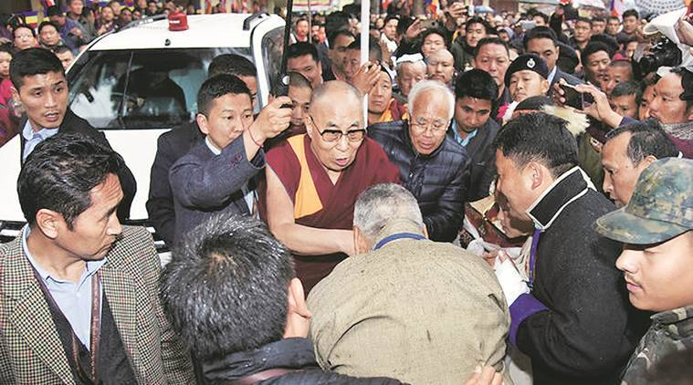 Dalai Lama, Dalai Lama China, China Dalai Lama, Dalai Lama Arunachal visit, China Arunachal, India China bilateral ties, Hua Chunying , China India ties, India news, Indian Express