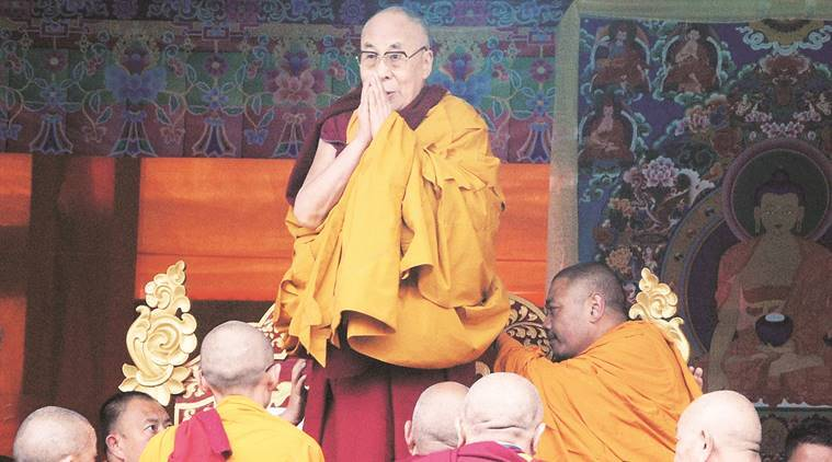Dalai Lama, dalai lama tibet, dalai lama china, Dalai Lama india, Dalai lama india visit, China on Dalai Lama's visit, Dalai Lama visits Arunachal, china on dalai lama, China-India ties, indian express news