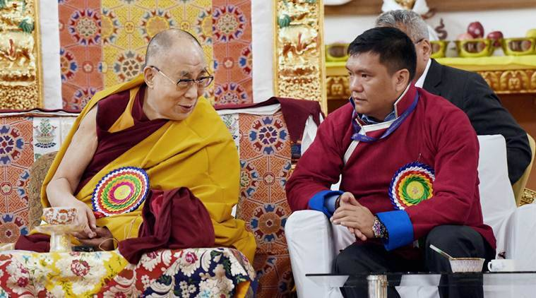 dalai lama, tawang, dalai lama visit, dalai lama arunachal visit, Buddhist monastery, Tawang monastery, Buddhist leader, india news, indian express news, latest news