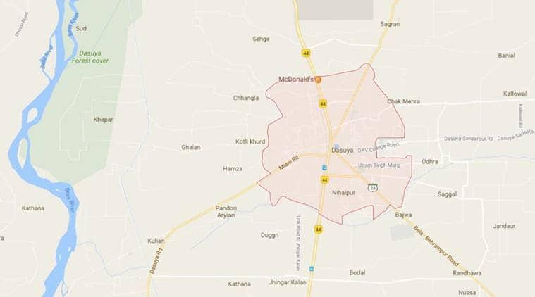 Three School Children, Bus Driver killed in Accident on Dasuya-Hazipur Road