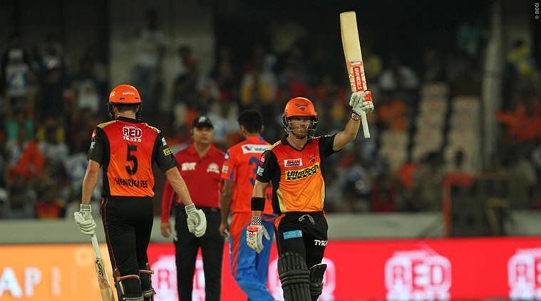 Gujarat Lions, Sunrisers Hyderabad, Gujarat Lions vs Sunrisers Hyderabad, Rashid Khan, David Warner, sports news, sports, cricket news, Cricket, Indian Express