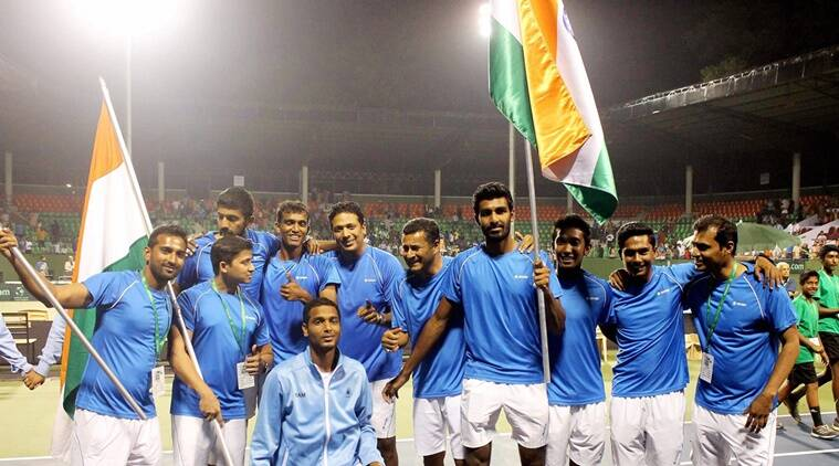 india davis cup, davis cup, india vs uzbekistan davis cup, india vs uzbekistan tennis, rohan bopanna, n sriram balaji, balaji tennis, tennis news, sports news, indian express