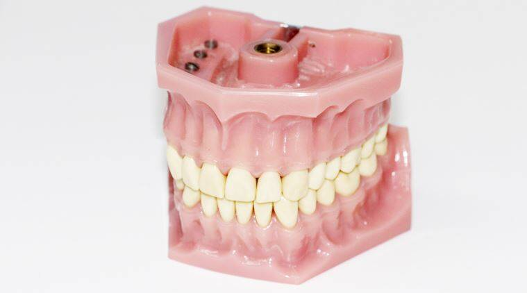 teeth cancer, cancer causes, cancer and dentures, mouth health, health of mouth, dentures, denture care, indian express, indian express news, health news, latest health news, cancer study