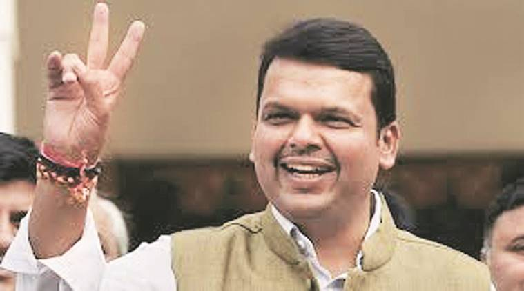 Maharashtra CM Devendra Fadnavis visits Kripashankar Singh's house as part of Ganesh festival