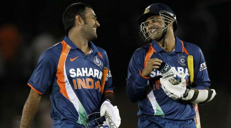 Want MS Dhoni to continue playing ODI format till World Cup 2019, says Virender Sehwag