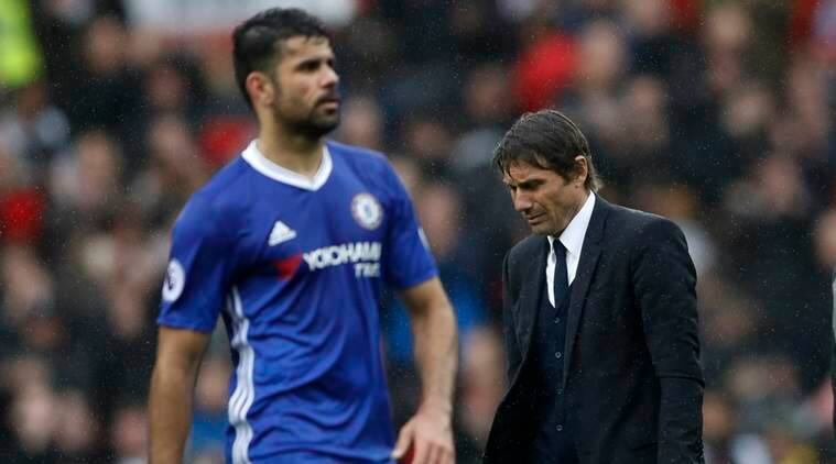 diego costa, chelsea, antonio conte, conte, chelsea, football news, sports news, indian express
