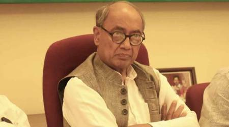 Digvijaya Singh attacks Centre for not granting asylum to Rohingya refugees