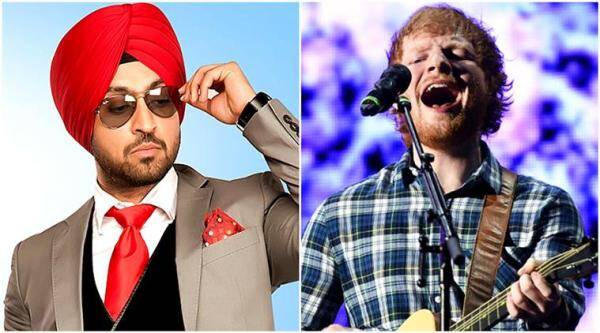 ed sheeran, diljit dosanjh, ed sheeran diljit dosanjh mashup, mashup shape of you, shape of you do you know mashup, do you know, diljit dosanjh do you know, shape of you, dj mix, songs, videos, indian express, indian express news
