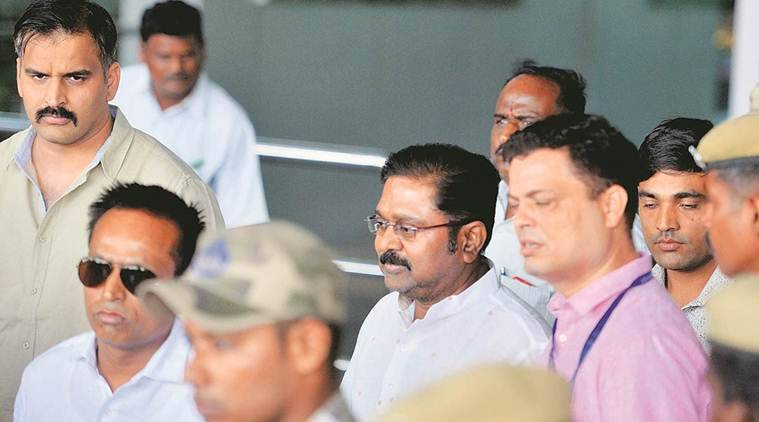 Image result for AIADMK symbol case: Delhi Court grants bail to TTV Dhinakaran,