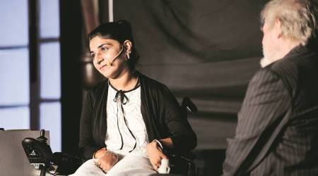 divya arora, Dr khanna, play dr khanna, theatre, theatre actor divya khanna, delhi theatre, delhi theatre culture, wheelchair, indian theatre, entertainment, indian express news
