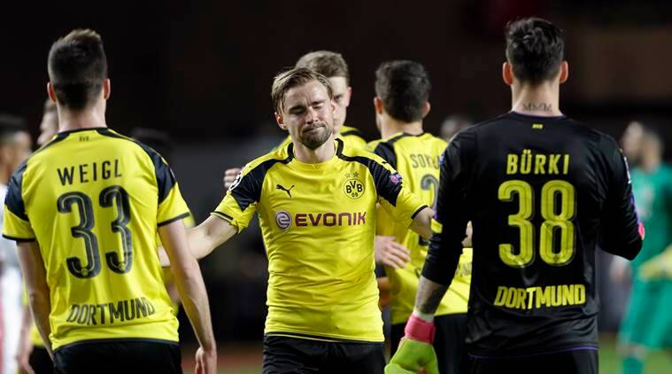 Borussia, Borussia Dortmund, Dortmund, Monaco, Dortmund vs Monaco, Champions League, Champions League quarterfinals, UEFA Champions League, football news, sports news, Indian Express
