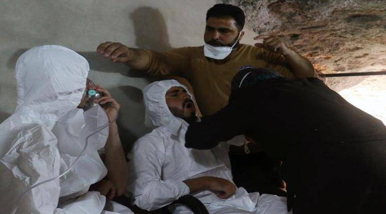 Syria, Syria chemical attack, Syria chemical attack reports, Syrian President Bashar al-Assad, Syria war, EU on Syrian chemical attack, world news, indian express news