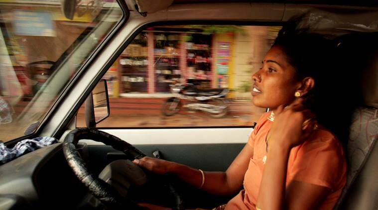 driving with selvi, driving with selvi elisa paloschi, driving with selvi elisa paloschi interview, child marriage interview, child marriage driving with selvi nterview, driving with selvi first south indian woman cab driver india, indian express, indian express news, habitat indian film festival