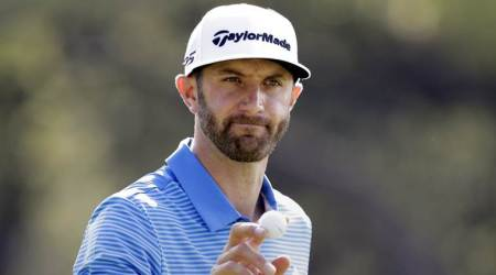 Dustin Johnson, Dustin Johnson US, US Dustin Johnson, Dustin Johnson Masters, Augusta National, sports news, sports, golf news, Golf, Indian Express