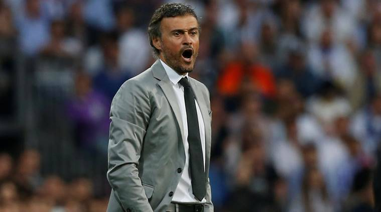 barcelona, barca, barcelona vs real madrid, elclasico, luis enrique, enrique, la liga title, la liga, football news, football, indian express
