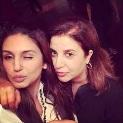 Farah Khan parties with Karan Johar, Farhan Akhtar and 9 other directors. Wonder what they discussed?