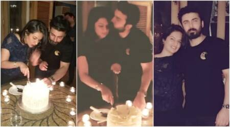 Fawad Khan rings in wife Sadaf's birthday and their candid moments are not to be missed. See pics, video