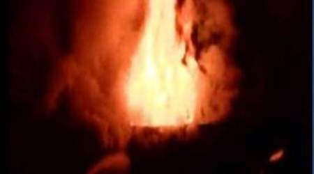 Fire in building housing PTI office in Kolkata