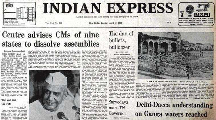 forty years ago, indian express 40 years ago, india news, latest news, indian express news