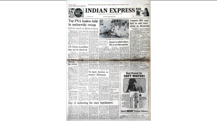 Prime Minister Z.A. Bhutto, Z.A. Bhutto, PNA national council, Congress, Supreme Court, Janata Party , indian express news, indian express editorial
