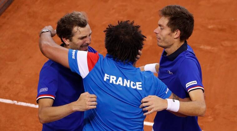 france vs great britain, great britain vs france, france vs britain davis cup, davis cup, davis cup world group, davis cup quarterfinals, tennis news, sports news, indian express