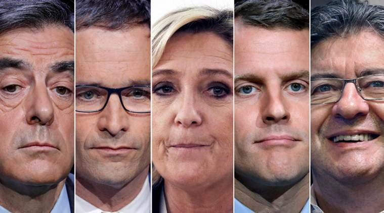 France, France presidential election, France election, Emmanuel Macron, Marine Le Pen, election results, Paris Champ Elysees shootout, France terror attack, World news, Indian Express