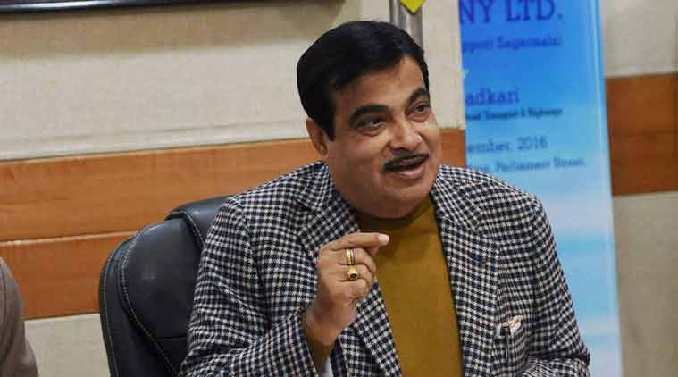 Nitin Gadkari, Gadkari, BJP, India revenue receipts, GST, Demonetisation, India revenue, Gadkari on India revenue receipts, Indian Express, India news