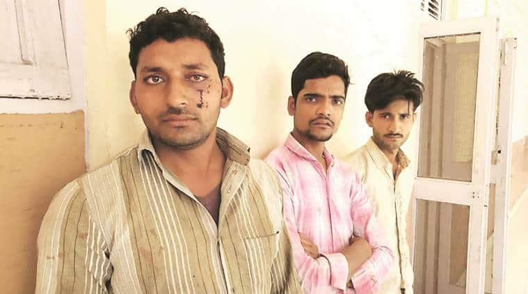 south delhi, gau raksha group, buffaloes transport, cow vigilantes, People for Animals, pfa, men attacked in south delhi, Ghazipur mandi, Ghazipur mandi slaughterhouse, india news, latest news