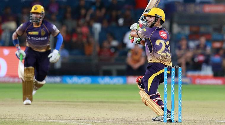 Gautam Gambhir, Gautam Gambhir news, Gautam Gambhir updates, Gautam Gambhir batting, Kolkata Knight Riders, Pising Pune Supergiant, sports news, sports, cricket news, Cricket, Indian Express
