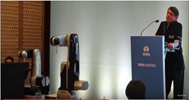 Mumbai: Country's First Made In India Robot Launched By Tata Motors