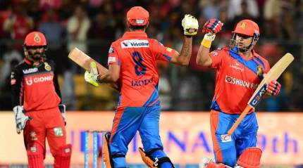 GL register comfortable 7-wicket win over RCB