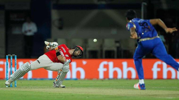 IPL 2017, IPL 2017 news, Mumbai Indians vs Kings XI Punjab, Glenn Maxwell, Glenn Maxwell Kings XI Punjab, Mumbai Indians, Jasprit Bumrah, sports news, sports, cricket news, Cricket, Indian Express