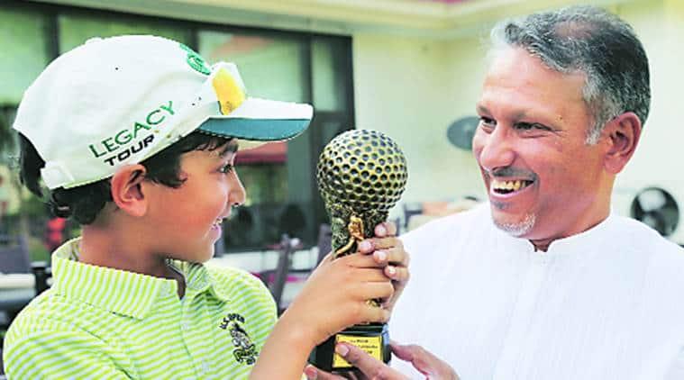 Jeev Milkha Singh, golf championship, punjab golf championship, harjai singh, indian express, india news
