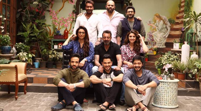 Golmaal Again, Golmaal Again movie, Golmaal Again cast, Golmaal Again release date, Sanjay Dutt, ranveer singh, Ajay Devgn golmaal again, golmaal again ajay devgn,  Rohit Shetty,  Rohit Shetty golmaal again, golmaal again  Rohit Shetty, Parineeti Chopra, Tabu, Arshad Warsi, Tusshar Kapoor, Kunal Khemu, Shreyas Talpade, entertainment news, indian express, indian express news