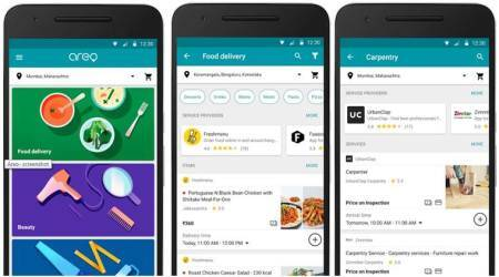Google, Google Areo, Areo app, Areo app play store, food order services, Google Areo aggregator, food delivery apps, home services app, social, technology, technology news