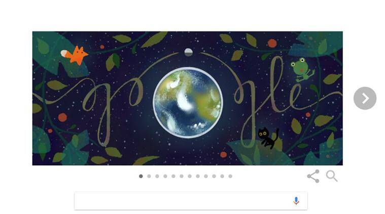 earth day, google doodle, earth day 2017, earth day doodle, earth day google doodle, google doodle earth day 2017, earth day google tips, what is earth day, latest news, world news, indian express