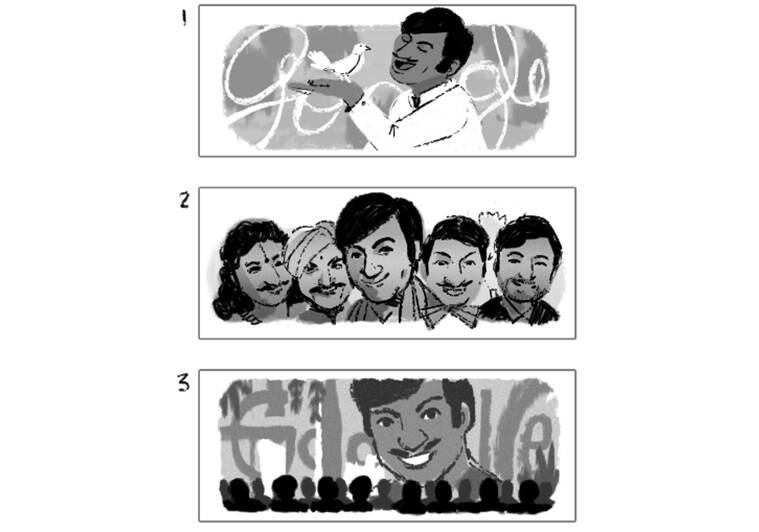 Google marks Kannada actor Rajkumar's birthday with a doodle