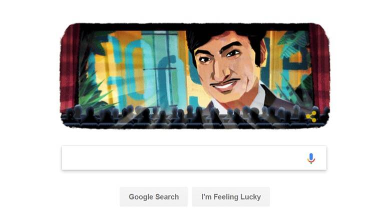 Google doodles for Kannada superstar Rajkumar