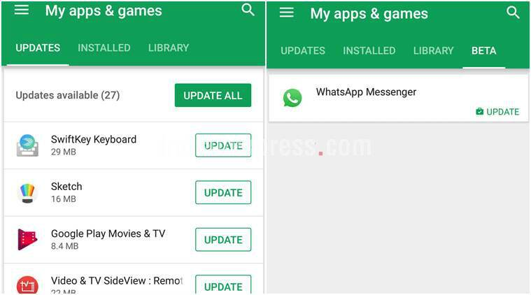 google play store my apps revamp adds updates tab makes sorting