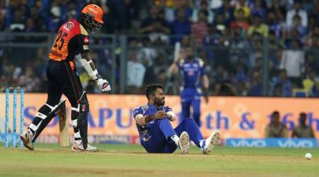 Hardik Pandya, Hardik Pandya India, India Hardik Pandya, Hardik Pandya MI, Mumbai Indians, Hardik Pandya injury, sports news, sports, Indian Express