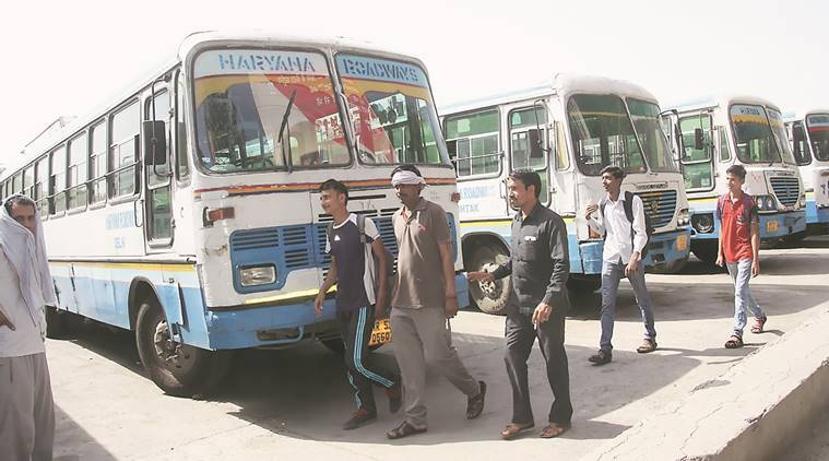 Buses Stay Off Roads In Haryana, Talks Inconclusive -4319